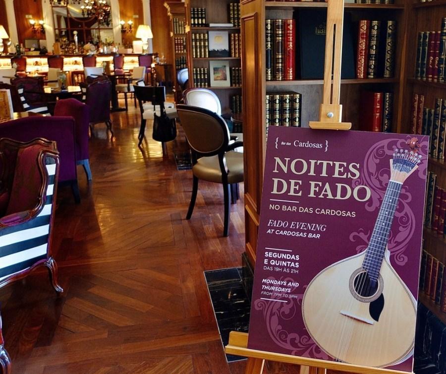 live fado music hotel bar porto