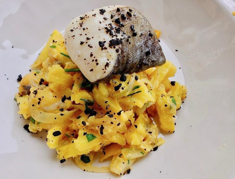 bacalhau cod dish