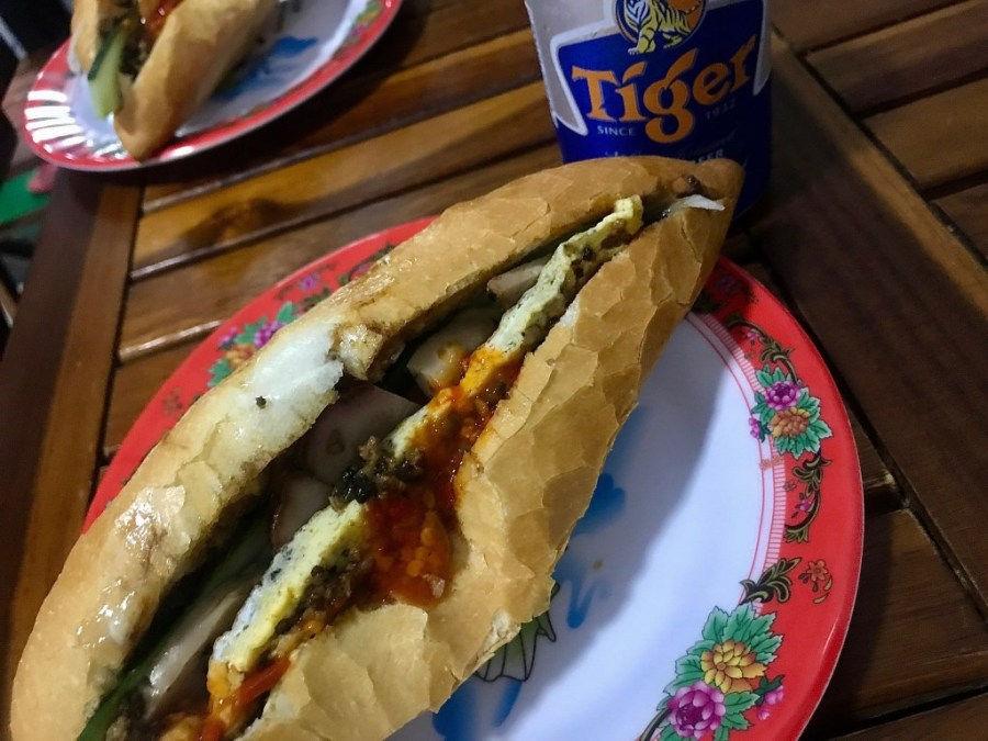 bahn mi queen sandwich