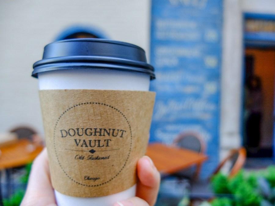 coffee from doughnut vault