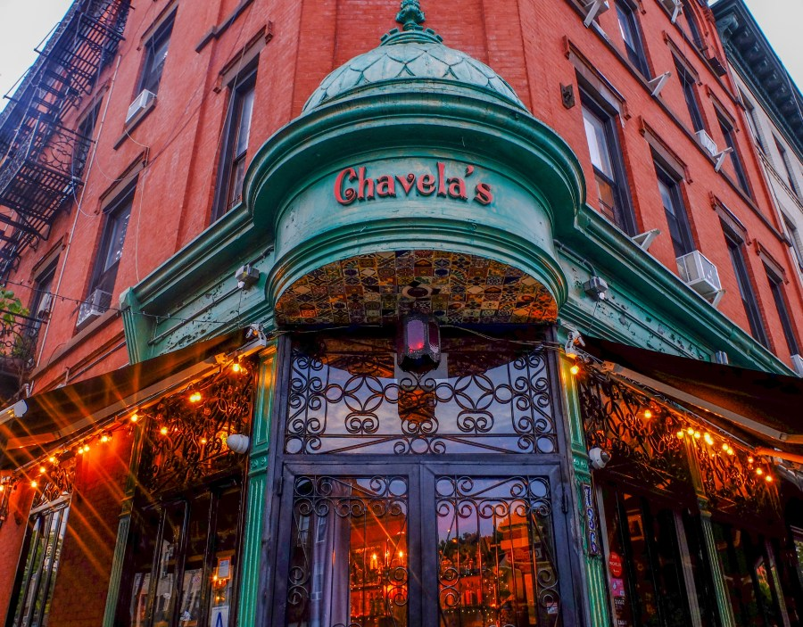 exterior of chavelas brooklyn