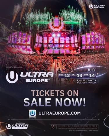 ultra Europe, ultra Europe 2019