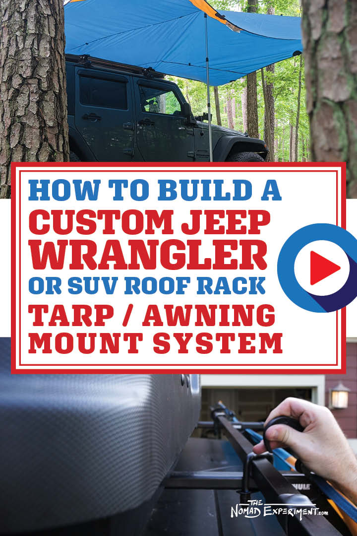 DIY: How To Build a Custom Jeep Wrangler / SUV Roof Rack ...