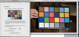 X-Rite Color Checker in the DNG Profiler