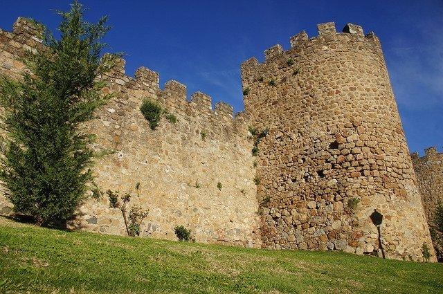 Plasencia Spain City Wall