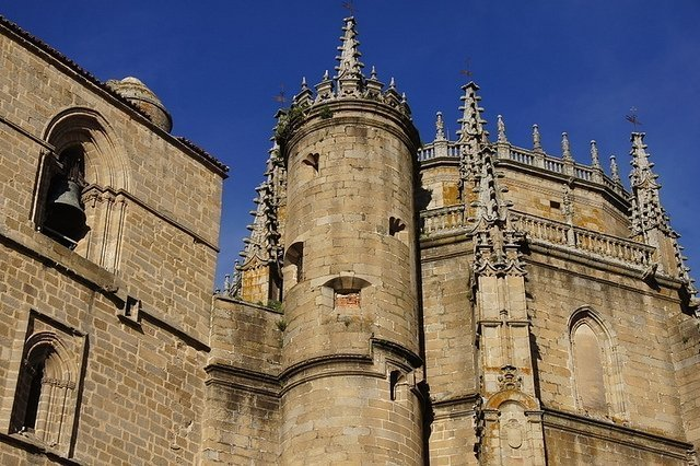 Plasencia Spain Cathedral