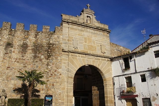 One of Plasencia's City Gates