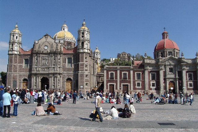 Basilica of Our Lady of Guadalupe in Mexico City