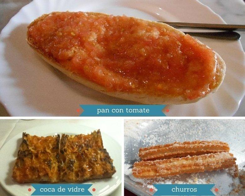 Vegan breakfast in Spain