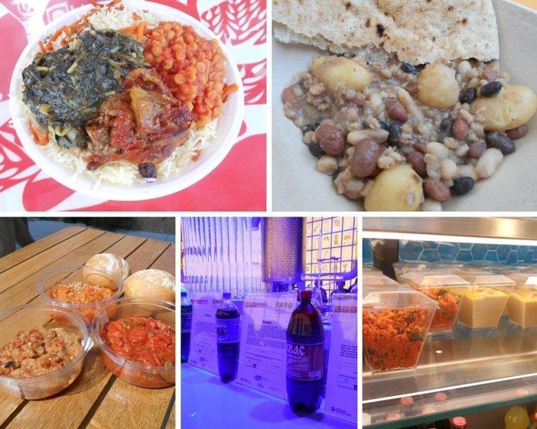 Vegan Middle Eastern food at Expo Milan