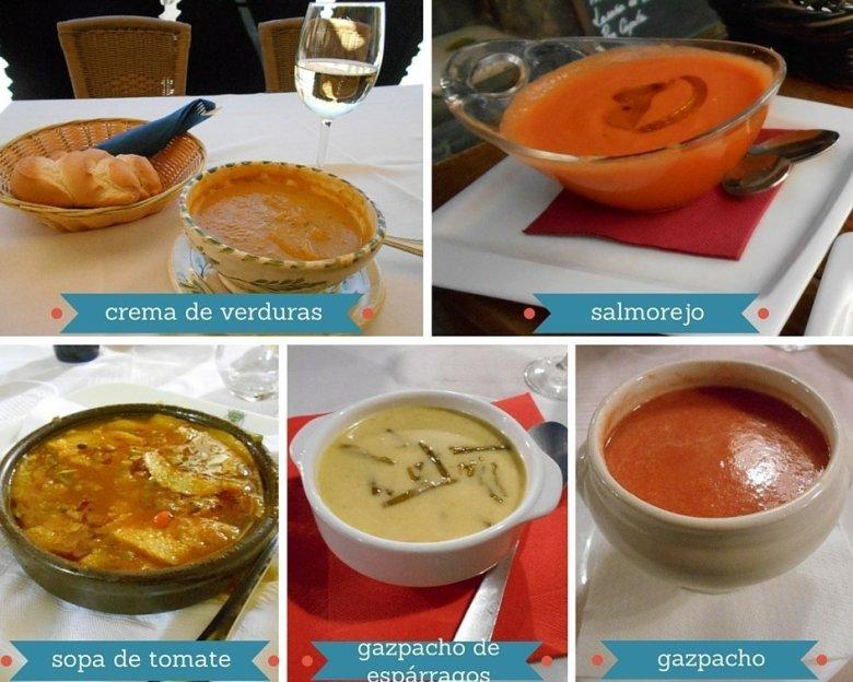 Vegan soups in Spain