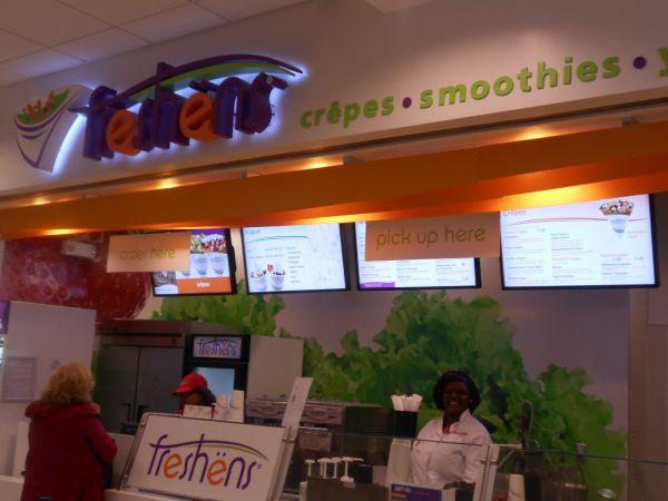 Freshens - vegan food in the Atlanta Airport