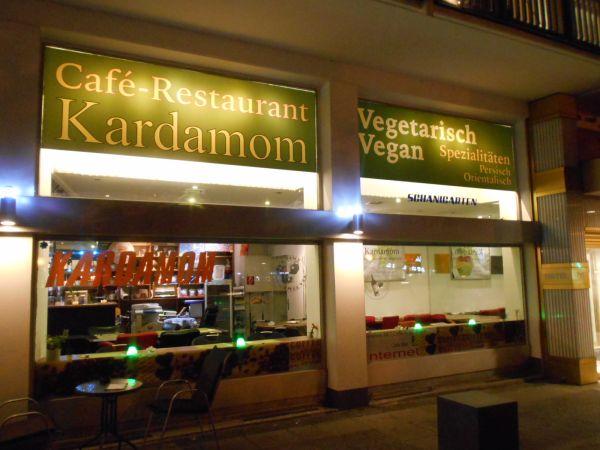 Persian (Iranian) vegetarian food in Vienna, Austria - vegan travel