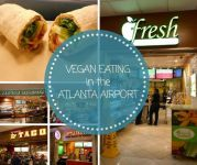 Vegan eating in the Atlanta Airport