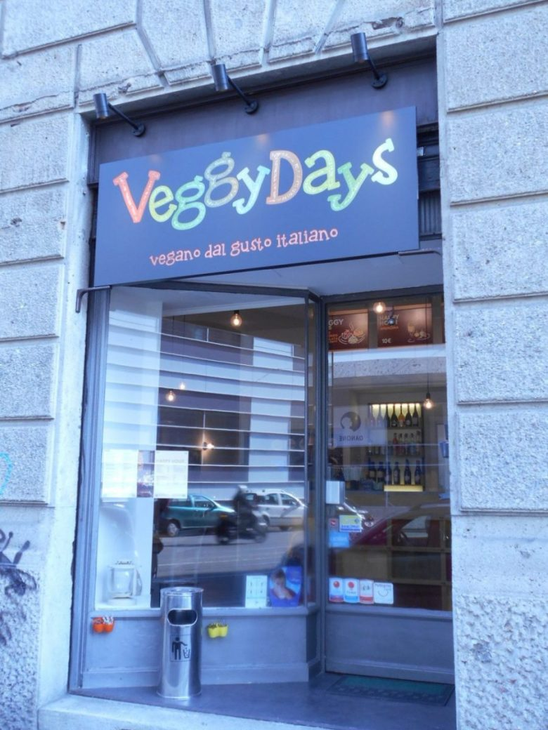 Veggy DAys - vegan fast food in Italy