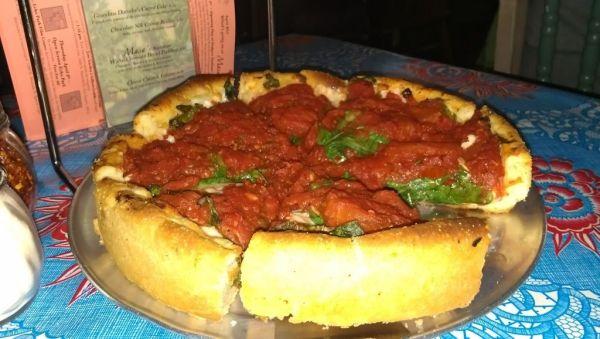 Vegan pizza -  Masa Echo Park California