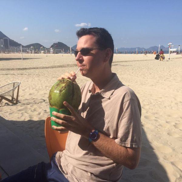 Nick at play - vegan stories - Rio2016