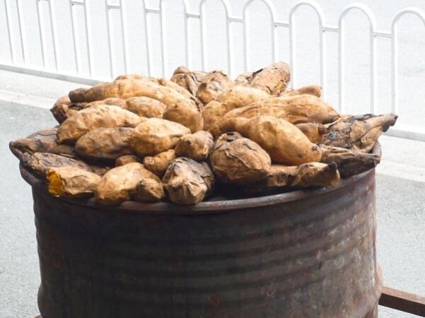 Sweet potatoes in Kunming - Living The China Study