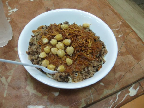 Koshary - how to be vegan on the Mongol Rally