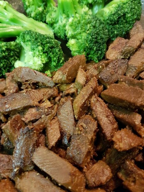 Pea Protein Beef and Broccoli - Vegan Germany