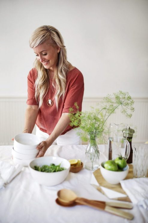 Heather Crosby - author of recipe template cookbook Pantry to Plate