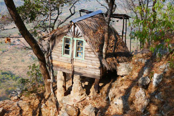 Treehouse at the Mushroom Farm - Malawi food