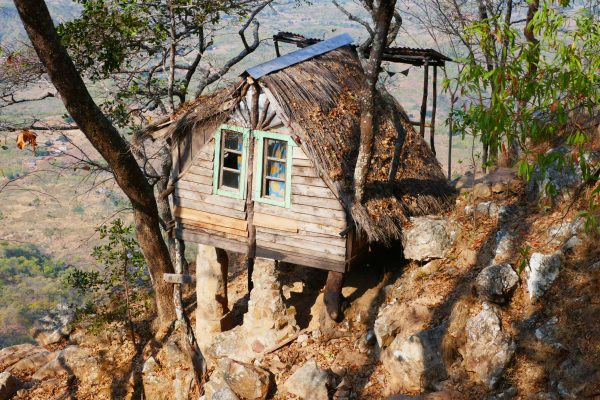 Treehouse at the Mushroom Farm - Malawi food