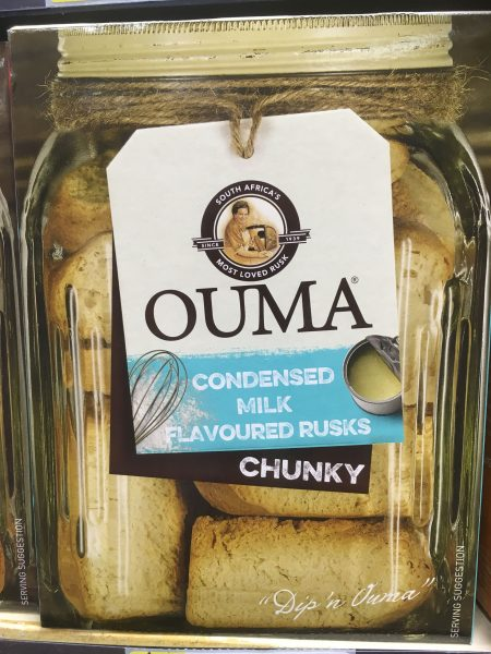 Ouma rusks - tour of Namibia