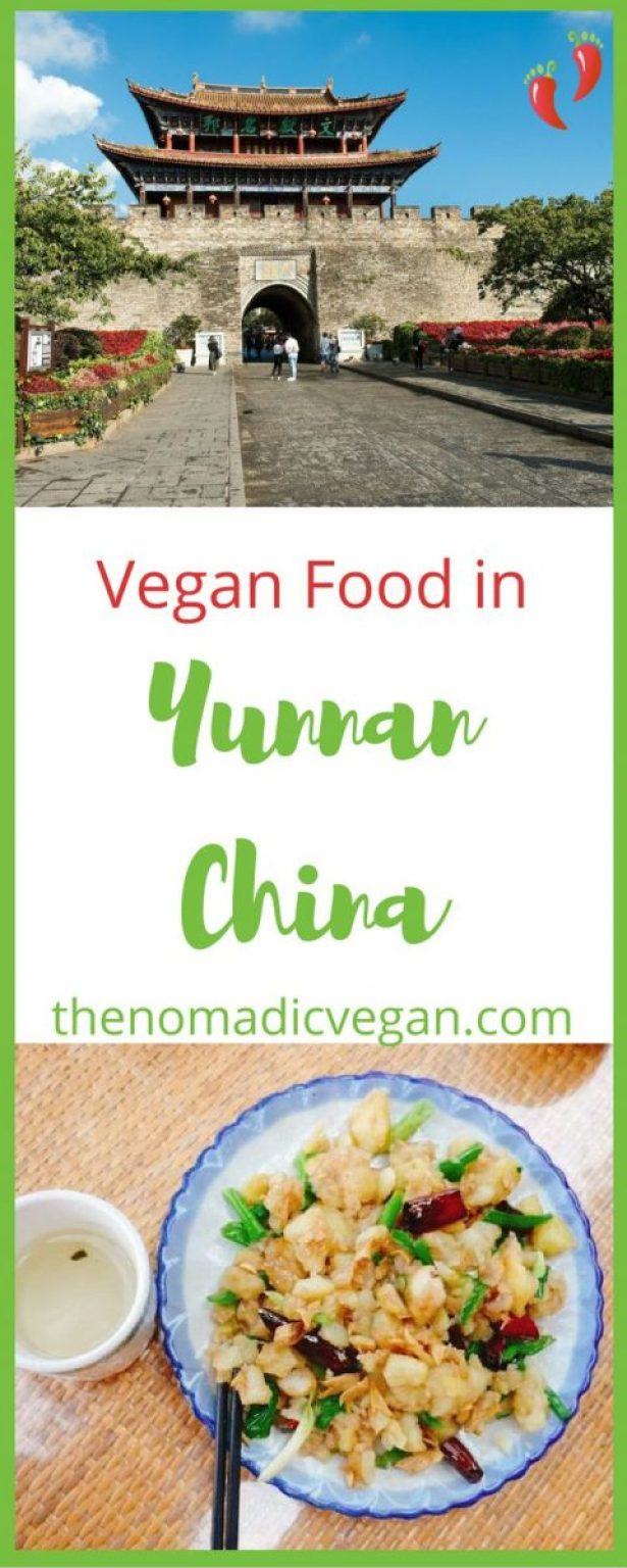 Vegan Food in Yunnan China