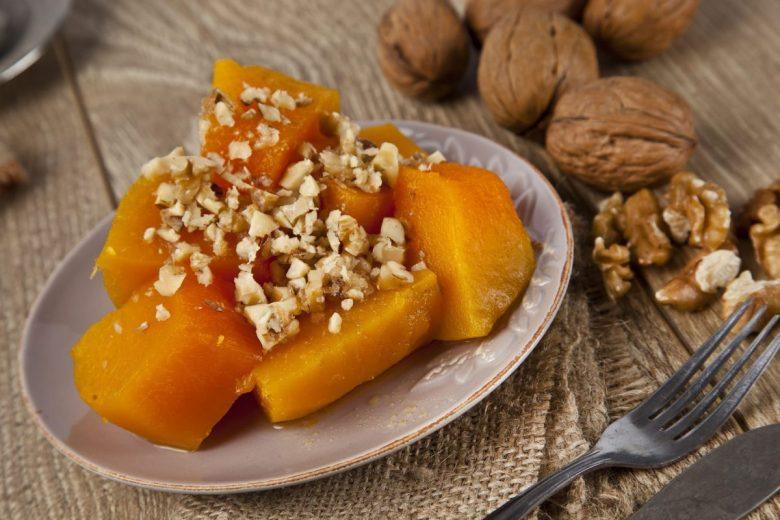 Kabak tatlısı  - vegan Middle Eastern desserts from Turkey