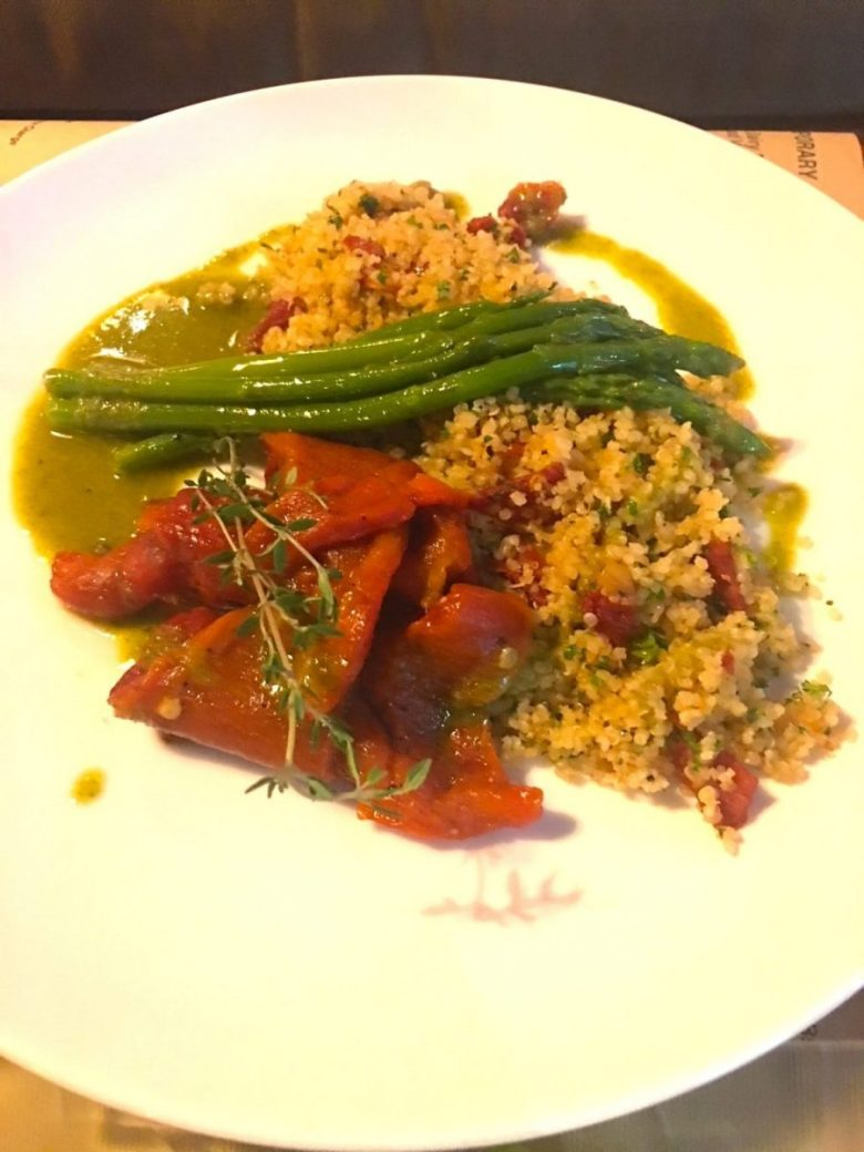 couscous in Kuta - vegan Bali