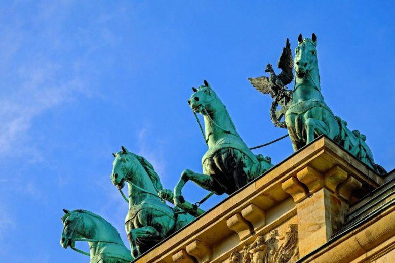 Brandenburg Gate, Berlin - How to Stay Vegan While Traveling