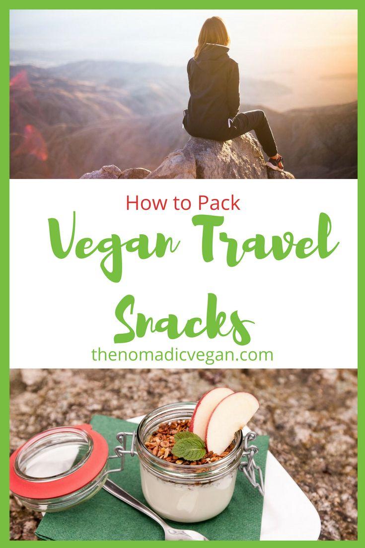 How to Pack Vegan Travel Snacks