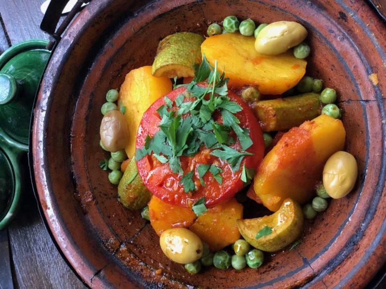 Tagine - vegan Morocco
