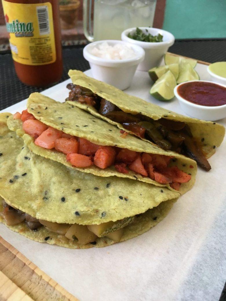 TacoGreen vegan tacos in Mexico