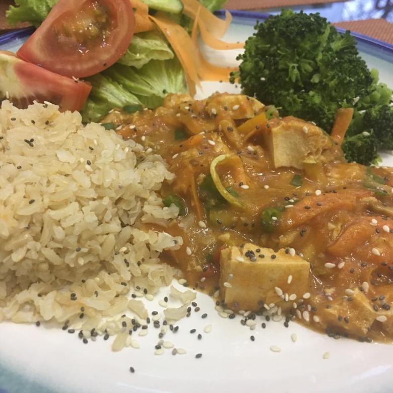 Equilibrio  - vegan food at Iguazu falls