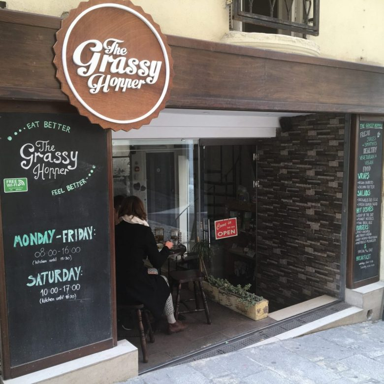 The Grassy Hopper - vegan restaurant Malta