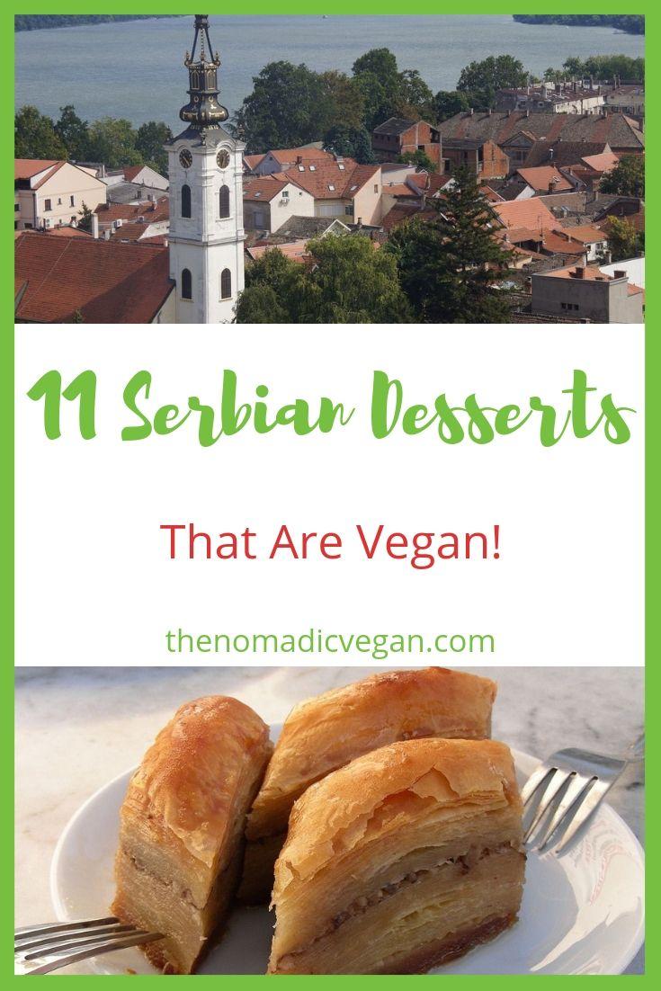 11 Serbian Desserts that are Vegan