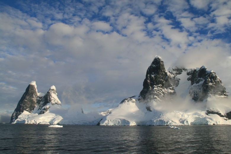Cruising through the Lemaire Channel on our Antarctica holidays