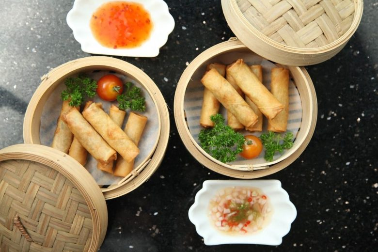 Spring rolls are easy to veganise in Vietnam