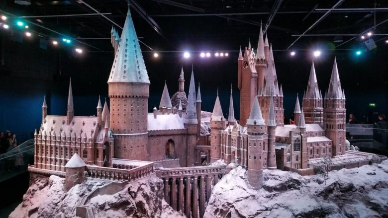Hogwarts castle model at Warner Bros Studio Tour - The Making of Harry Potter