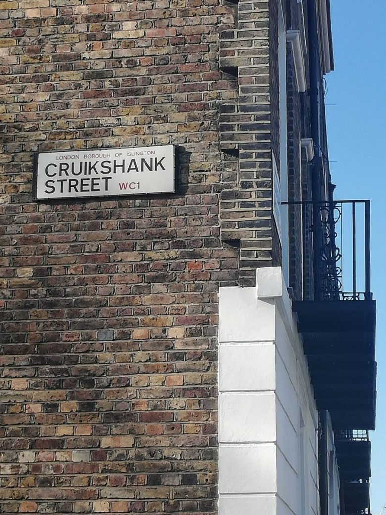 Cruikshank Street - Could this be a Harry Potter inspiration location?