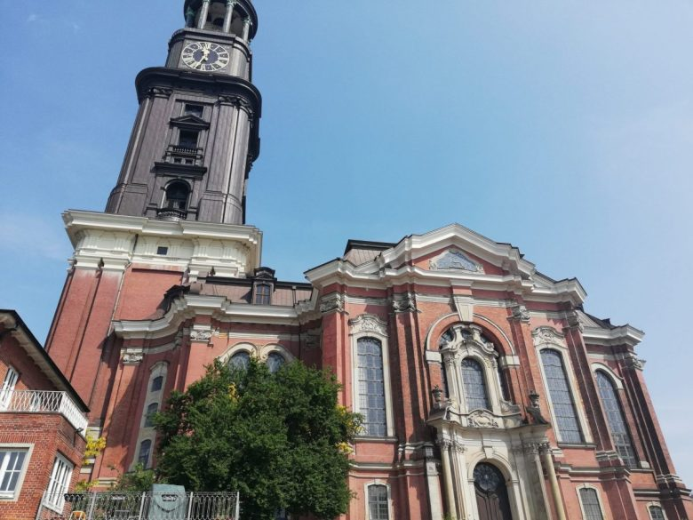 St Michaelis Church Hamburg Germany