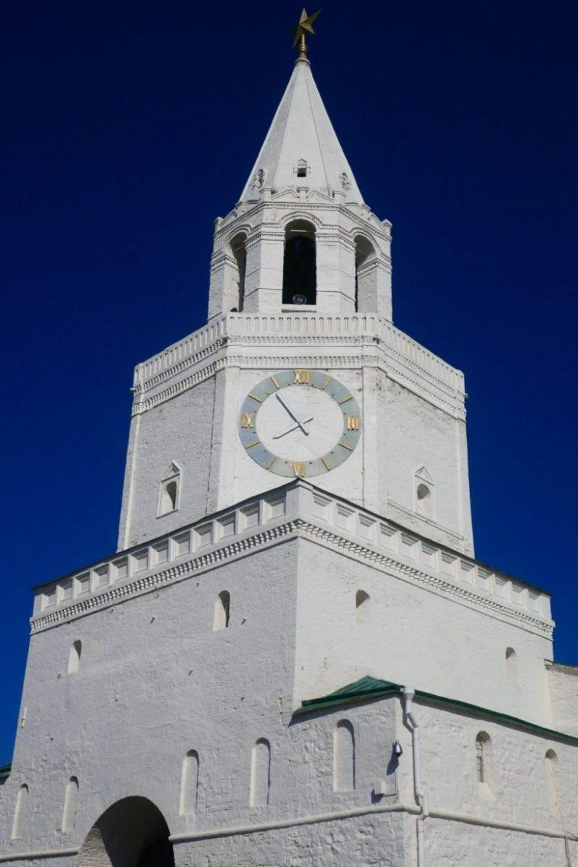 Spasskaya Tower kazan kremlin