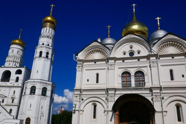 Cathedral Square Moscow Kremlin