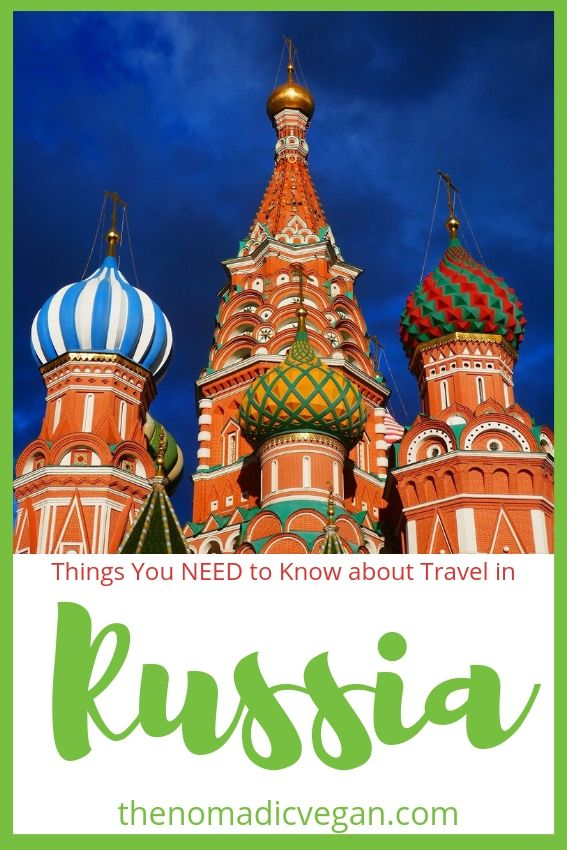 Top Things You NEED to Know about Travel in Russia
