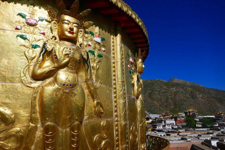 gold stupa