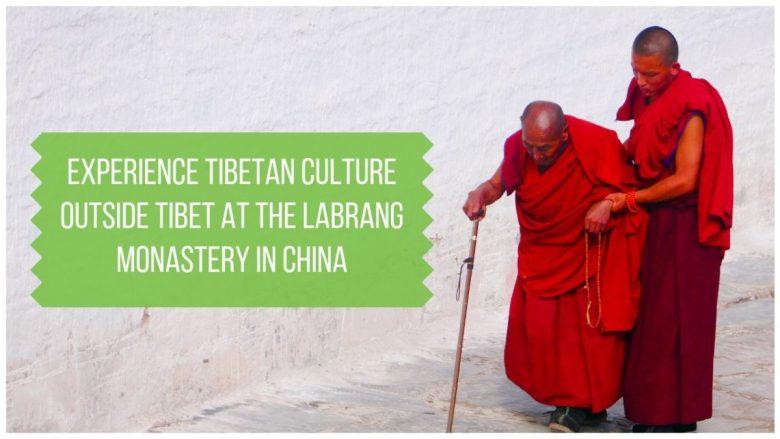 Tibetan Culture Outside Tibet at Labrang Monastery China