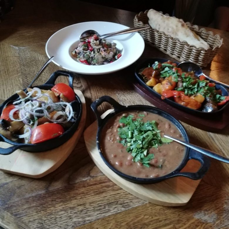 Georgian cuisine is highly underrated, and it's quite vegan friendly too!