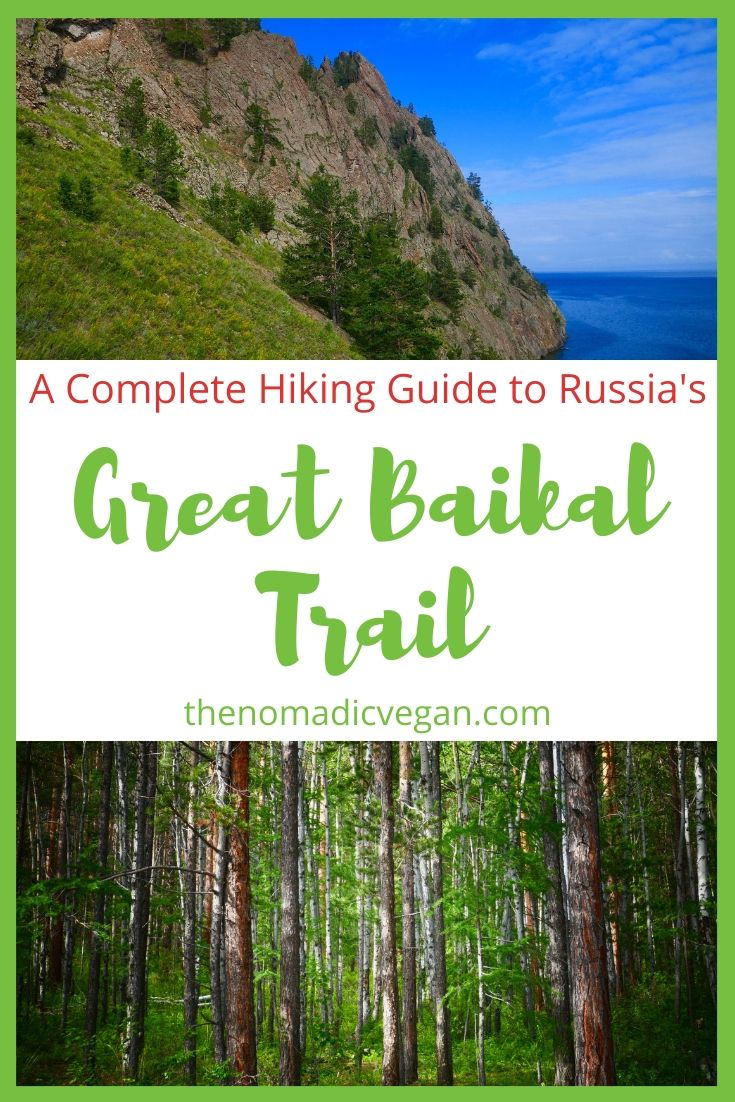 Hiking the Great Baikal Trail in Lake Baikal, Russia